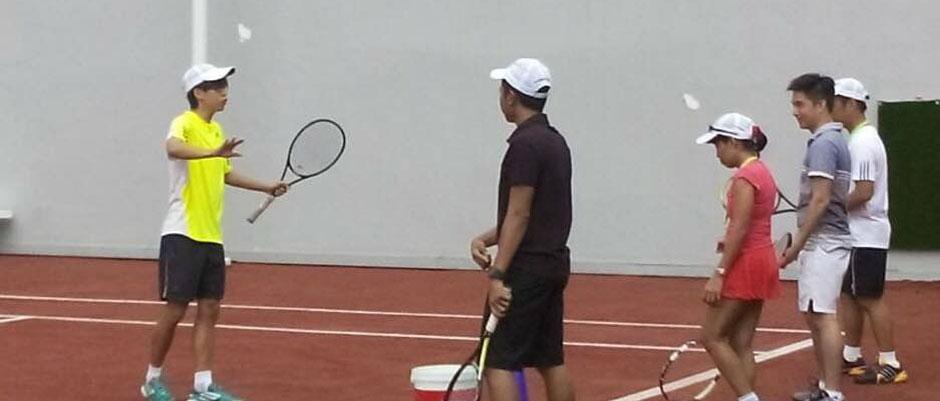 Dạy tennis tại Thái Nguyên